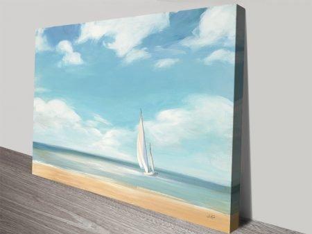 A Good Day Seascape Canvas Art