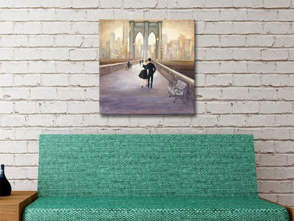 Bridge to NY Wall Art Home Decor Ideas AU