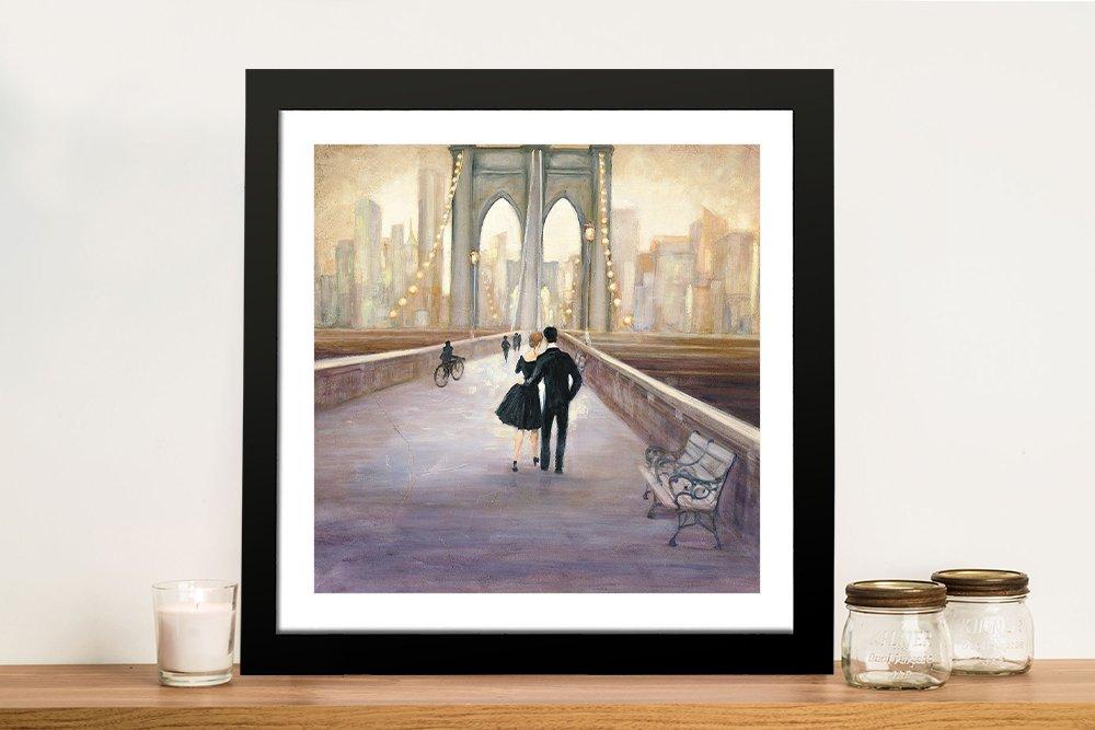 Framed Fine Art Cityscape Print for Sale