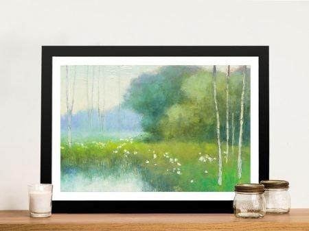 Spring Midst Landscape Print on Canvas