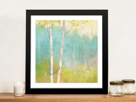 Spring Fling Framed Watercolour Print