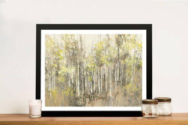 Summer Hike Framed Landscape Art