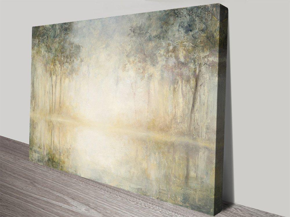 Morning Mist Julia Purinton Canvas Print