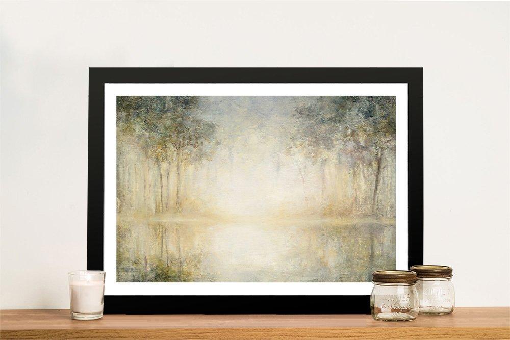 Morning Mist Framed Print Gift Ideas AU