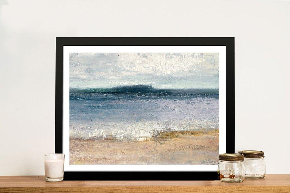 Buy Indigo Isle Framed Watercolour Print