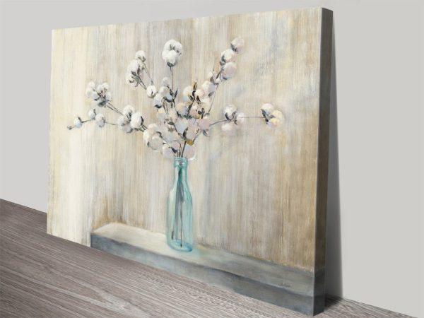 Cotton Bouquet Pretty Floral Art Cheap Online