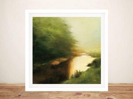 Spring Morning Framed Landscape Print