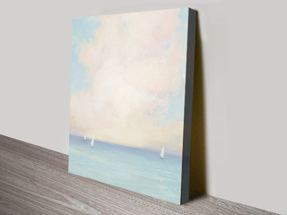 Morning Sail l Canvas Seascape Wall Art