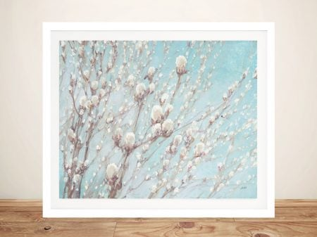 Early Spring Floral Watercolour Artwork