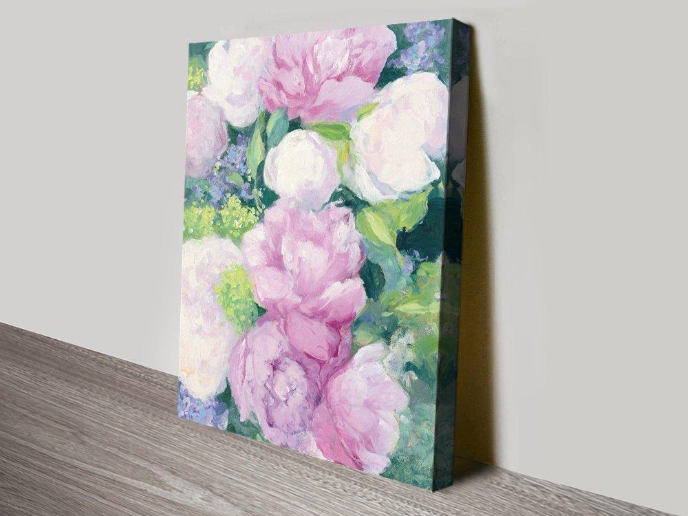 Summer Delight l Floral Art on Canvas