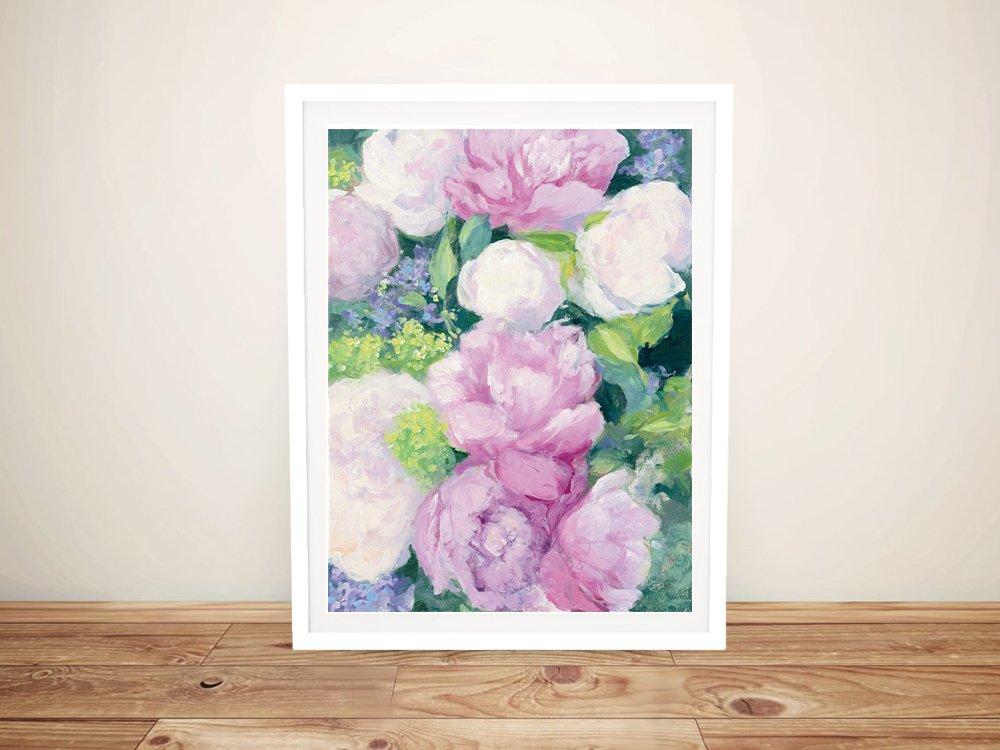 Framed Floral Art Unique Home Decor Ideas AU