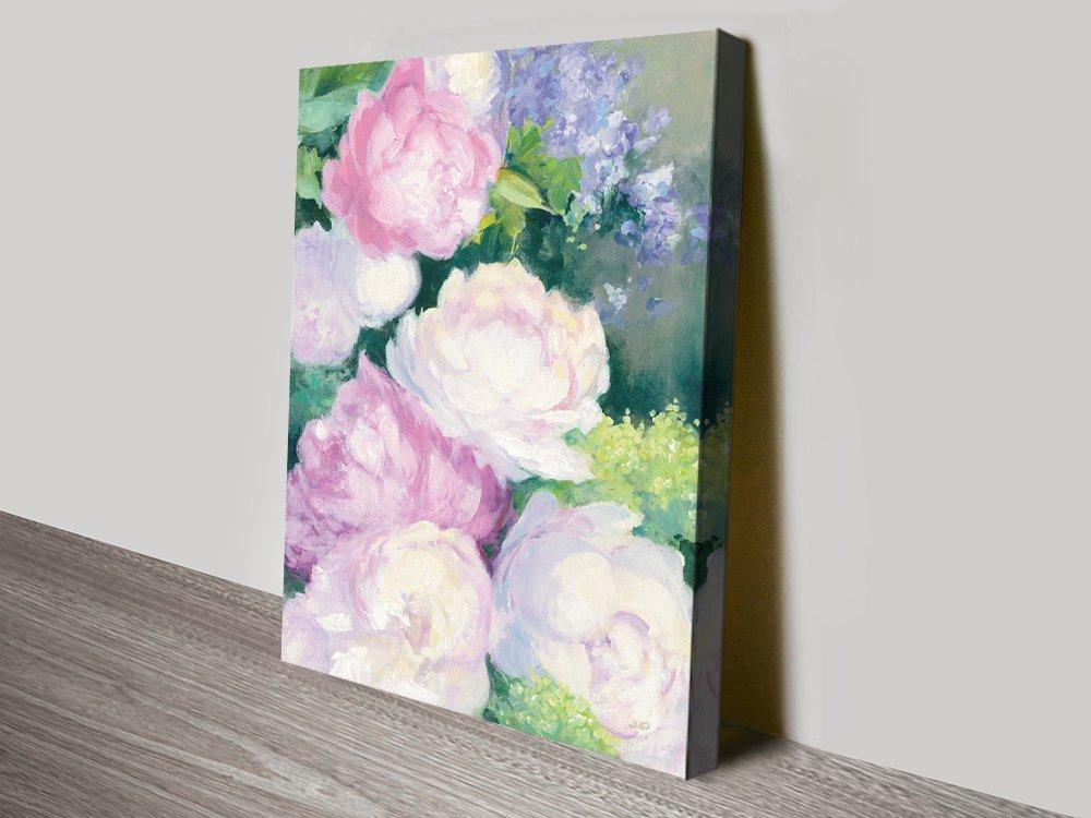 Summer Delight High-Resolution Floral Print