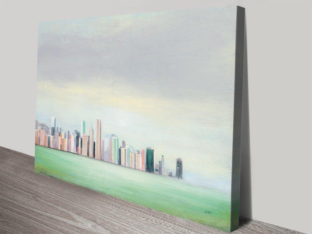 New York Skyline Watercolour Art Print