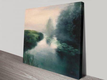 Buy Twilight Fog Watercolour Canvas Print