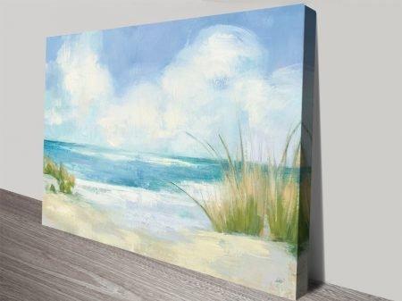 Wind and Waves l Watercolour Coastal Art