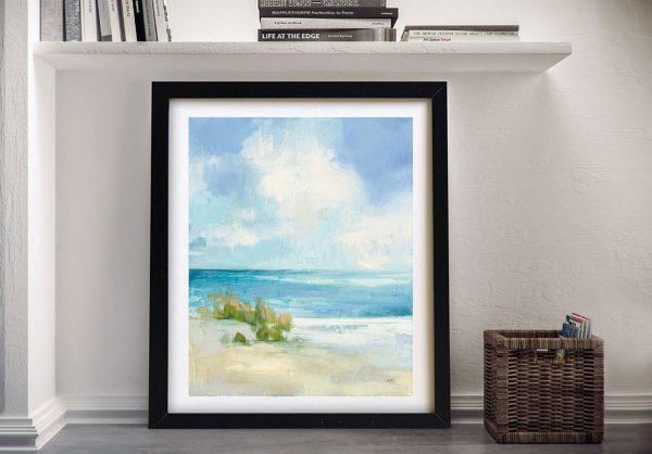 Wind and Waves Framed Seascape Artwork