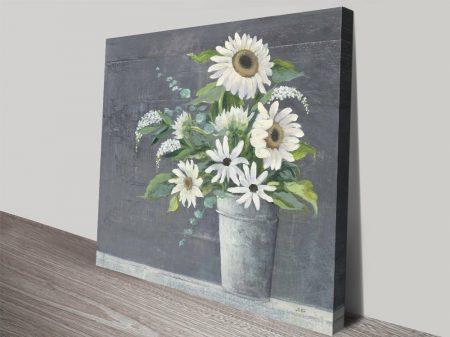 Late Summer Bouquet ll Watercolour Art