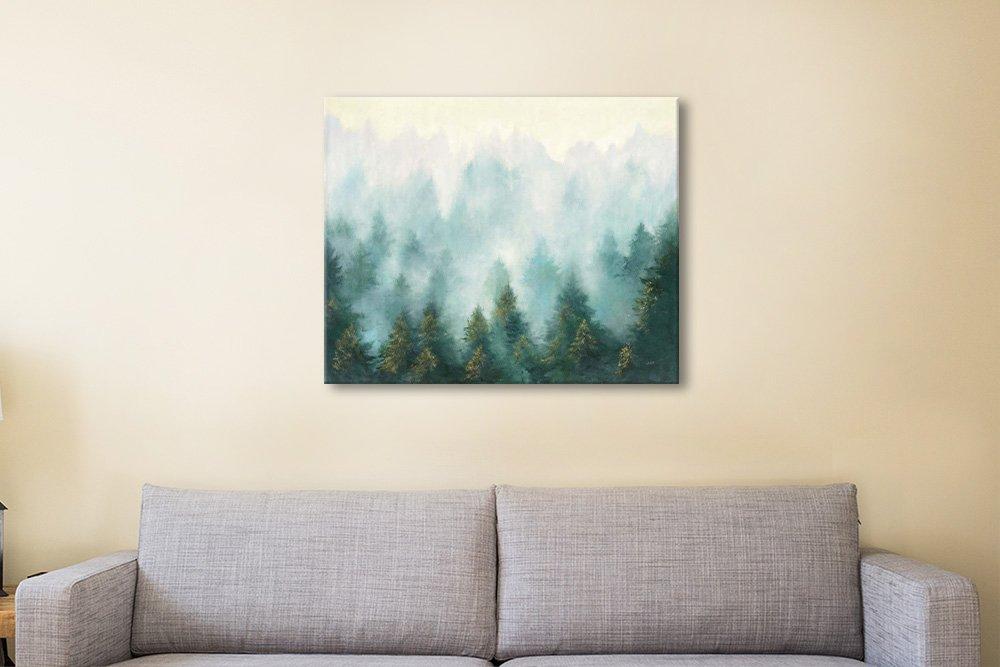 Forest Landscape Watercolour Print Online