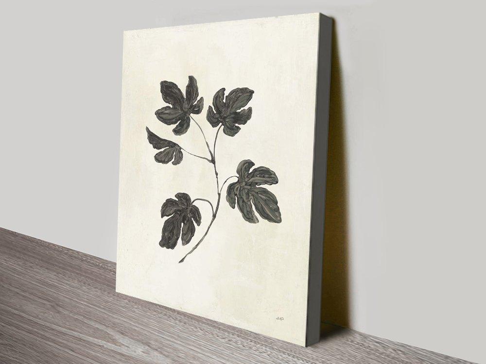 Botanical Study lll Delicate Floral Artwork
