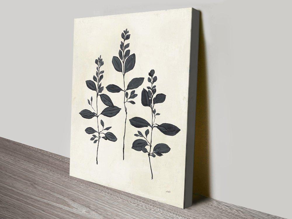 Botanical Canvas Art Watercolour Prints AU