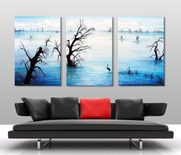 Affordable 3-Panel Landscape Canvas Art