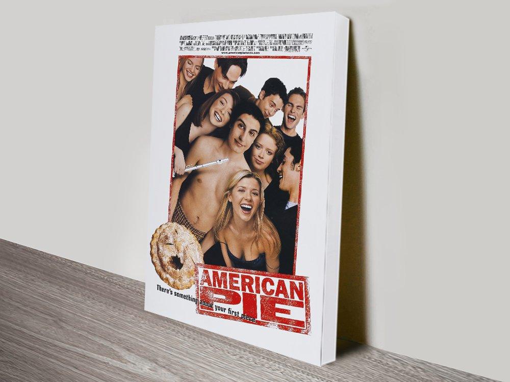 American Pie Movie Poster Print on Canvas