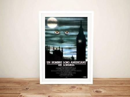 Spanish American Werewolf Framed Poster