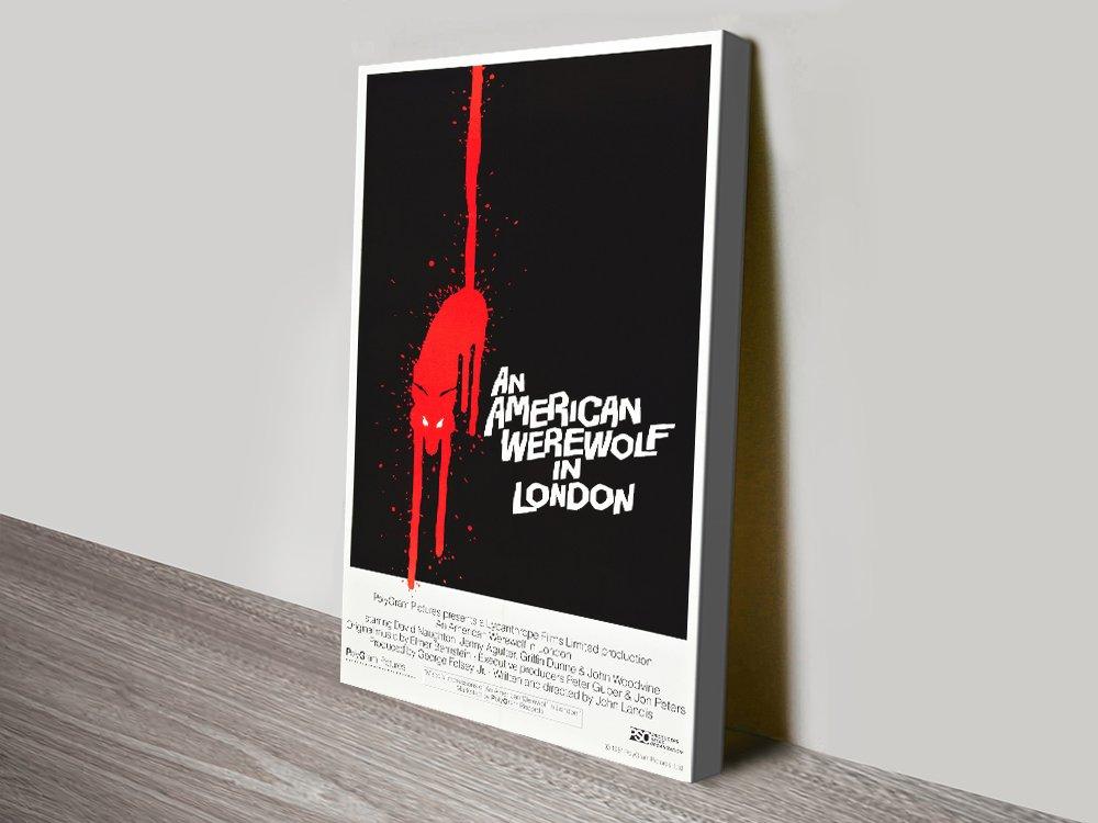 An American Werewolf in London Film Poster