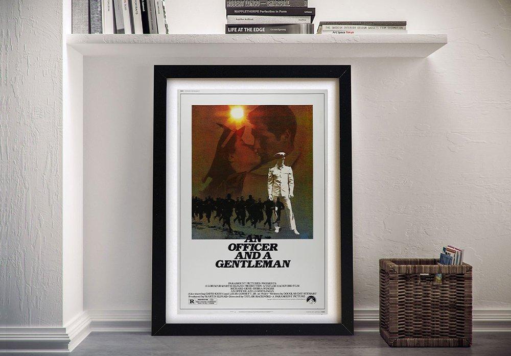 Richard Gere Vintage Movie Poster Art AU