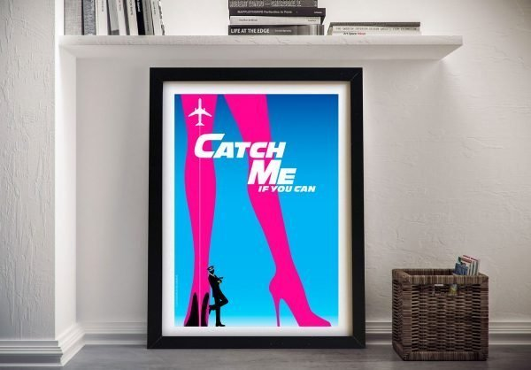 Catch Me If You Can Framed Film Poster