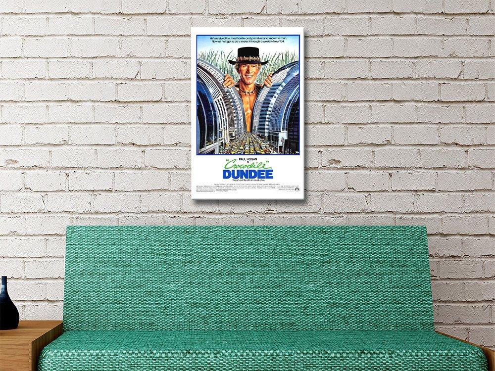 Crocodile Dundee Poster Unique Home Decor