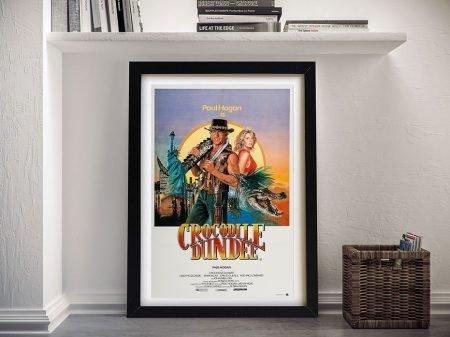 Crocodile Dundee Framed Movie Poster