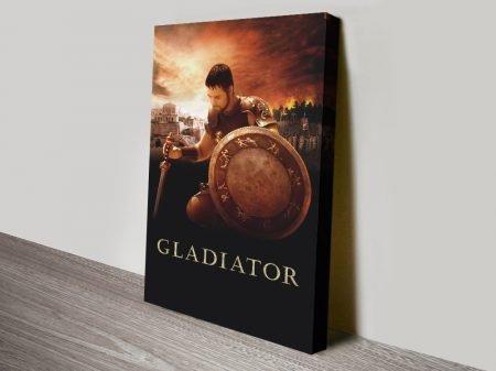 Gladiator Film Poster High-Resolution Print