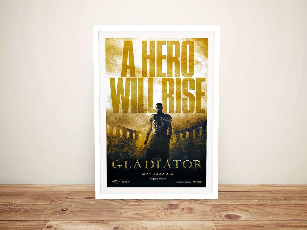 Gladiator Framed Film Poster Wall Art