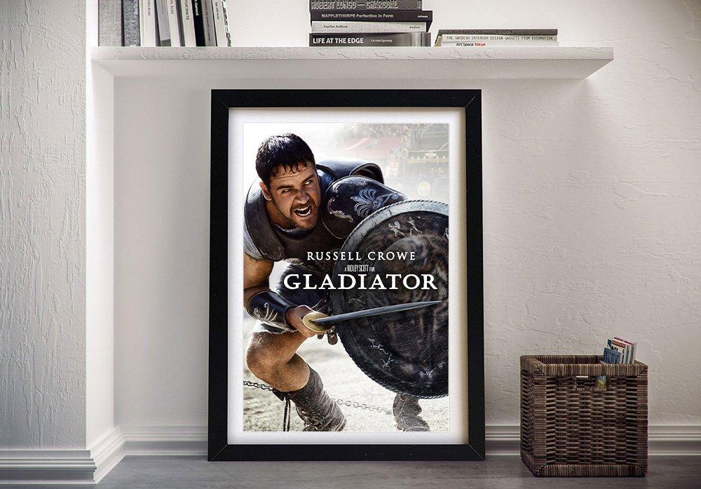Buy a Framed Gladiator Film Poster