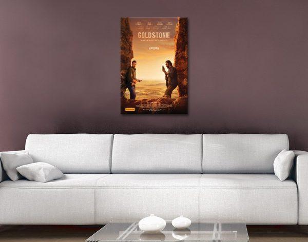 Goldstone High-Resolution Movie Poster Print