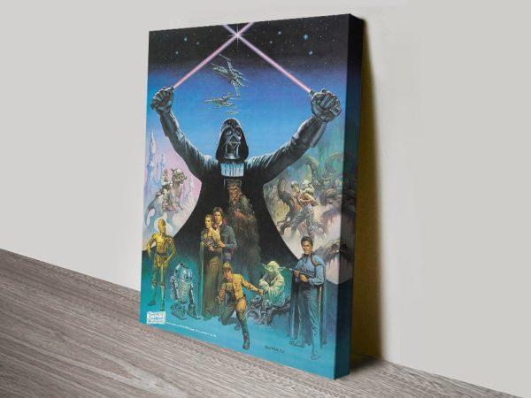 Vintage Star Wars Empire Strikes Back Art