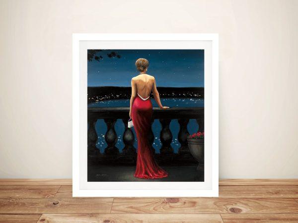 Thinking of Him Framed James Wiens Artwork