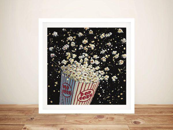 Cinema Pop Framed Canvas Wall Art