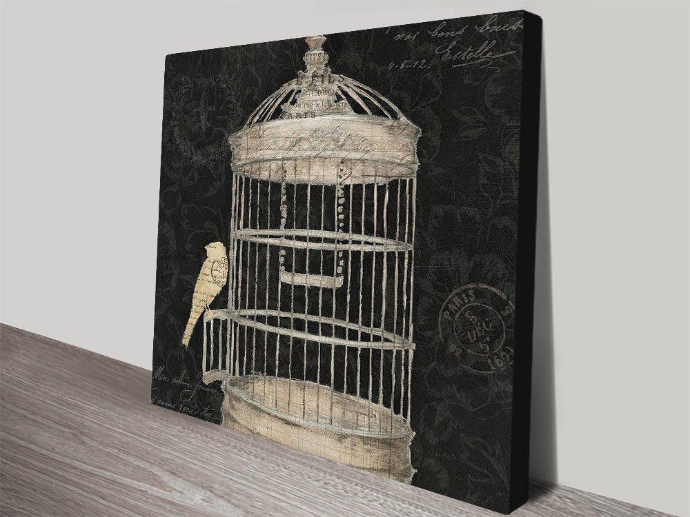 Via Paris ll Birdcage James Wiens Art