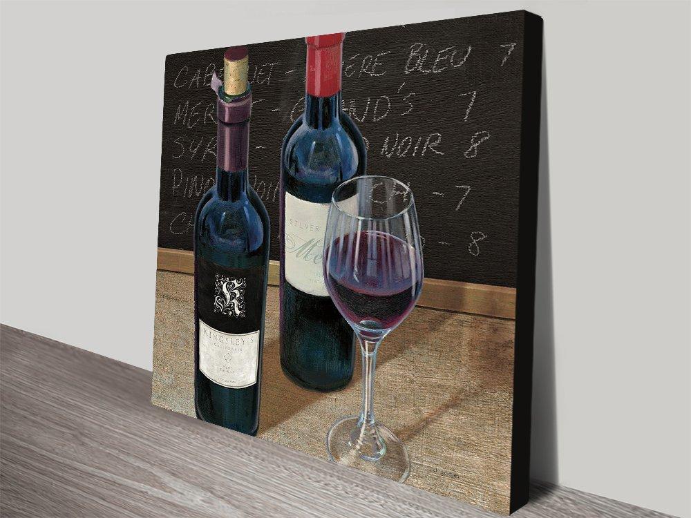 Wine Spirit ll Ready to Hang James Wiens Art