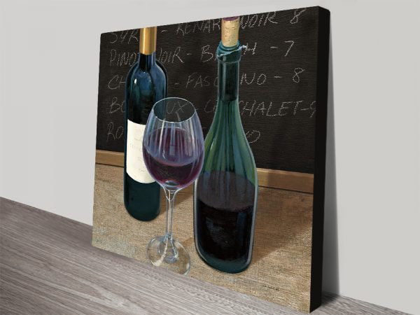 Wine Spirit Artwork Kitchen Decor Ideas AU