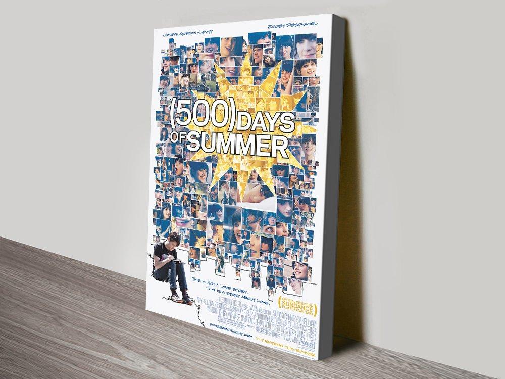 500 Days of Summer Film Poster Wall Art
