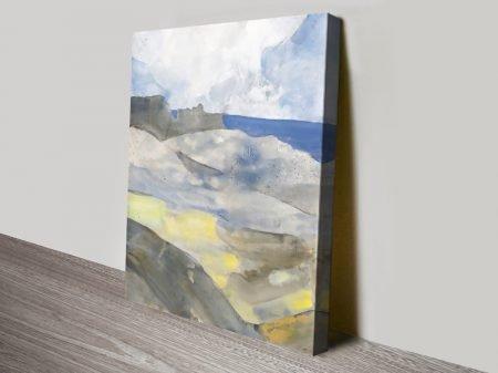 Buy Above the Bay Landscape Art Print