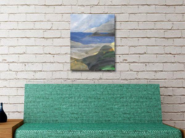 Above the Bay ll Albina Hristova Canvas Art