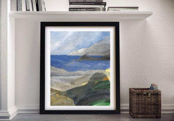 Above the Bay ll Framed Coastal Artwork