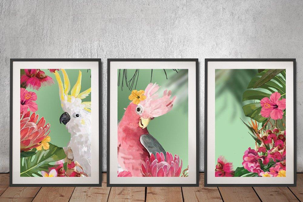 Framed Colourful Australian Art for Sale