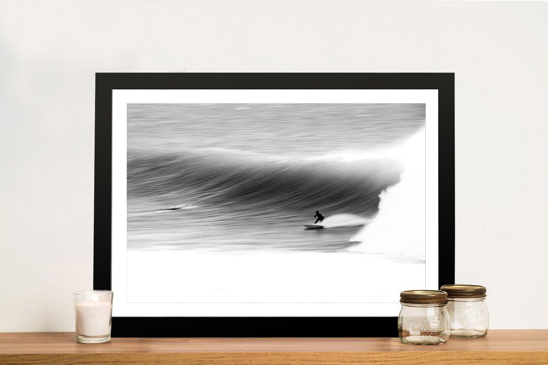Atmospheric Surfscape Framed Print for Sale AU