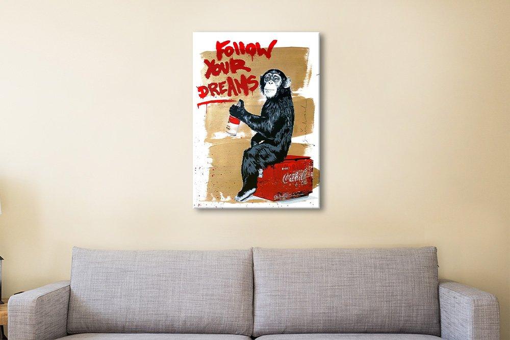 Follow Your Dreams Affordable Banksy Art