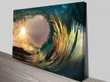 Buy Dreamstate Barrels Seascape Artwork